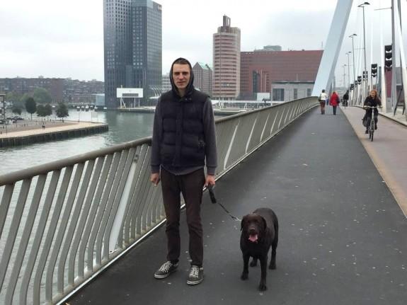 Dzintars un Elfa Roterdamā